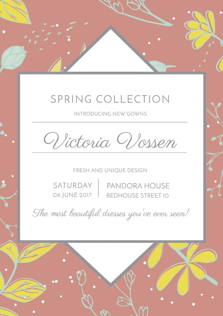 Fashion spring collection Ad — Créer un visuel
