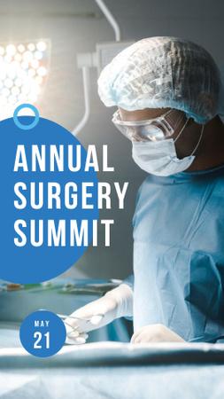 medical summit Instagram Story – шаблон для дизайна