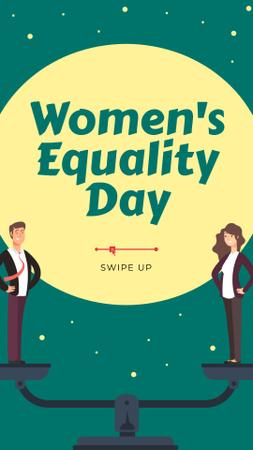 Template di design Gender Equality in Business concept Instagram Story