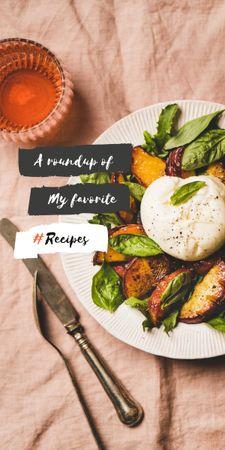 Delicious fresh Salad Graphic – шаблон для дизайну