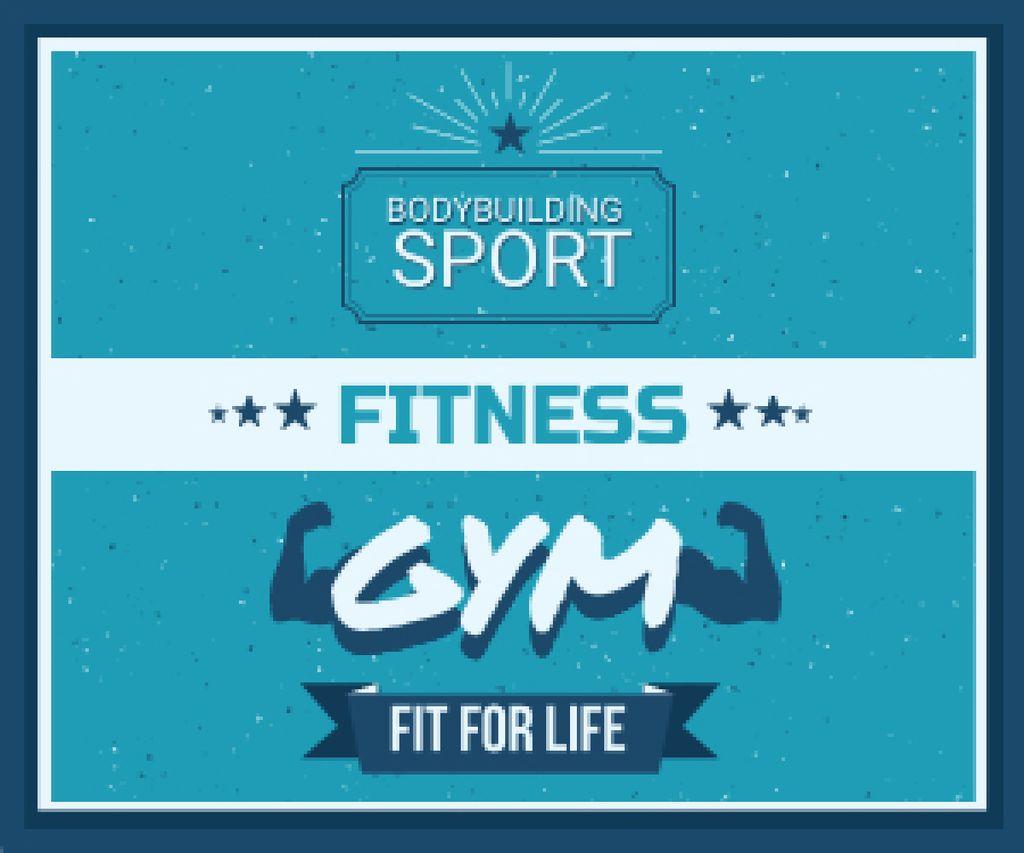 Fitness gym advertisement — Crear un diseño