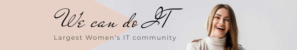 Women's IT company promotion — Створити дизайн