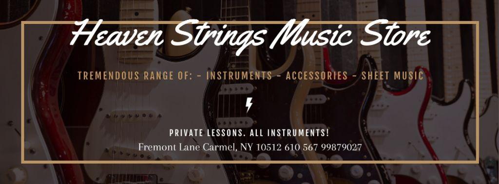 Music Store Special Offer — Maak een ontwerp