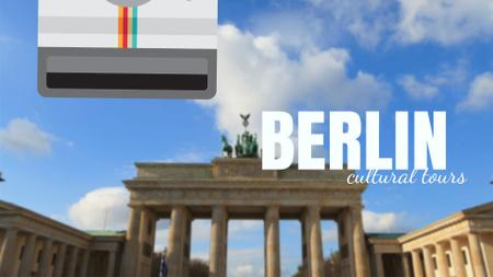 Modèle de visuel Tour Invitation with Berlin City Spots - Full HD video