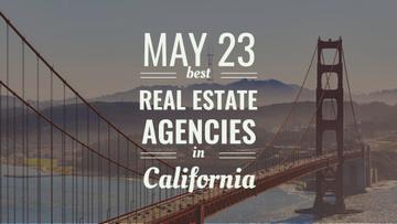 Real Estate Agencies Ad with Bridge