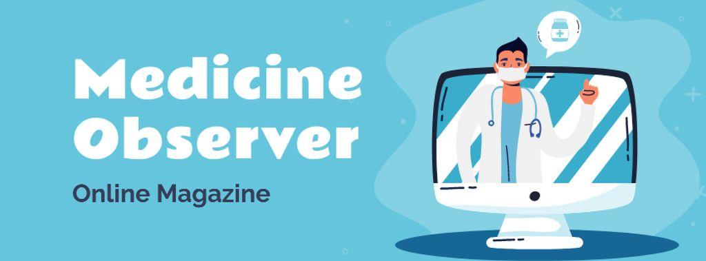 Online Medical magazine — ein Design erstellen