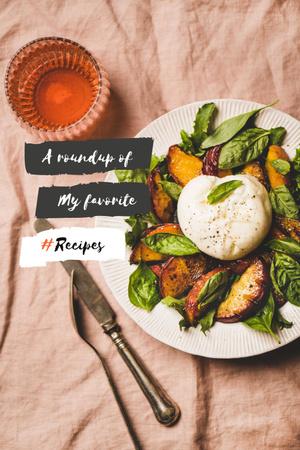 Delicious fresh Salad Pinterest Modelo de Design