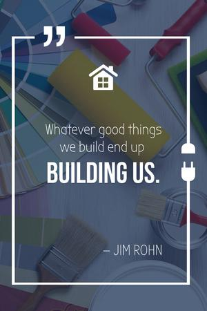 Template di design Tools for Home Renovation Pinterest