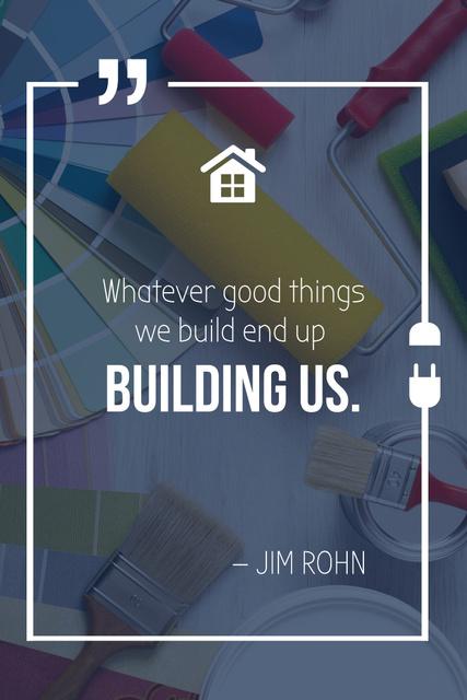 Tools for Home Renovation Pinterest – шаблон для дизайна