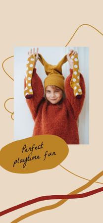happy child Snapchat Moment Filter – шаблон для дизайна