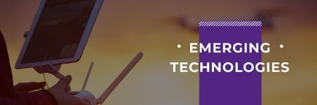 Emerging technologies Ad Email header – шаблон для дизайну