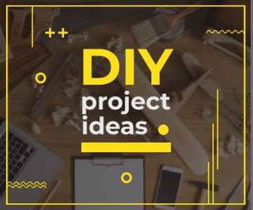 Diy project ideas banner