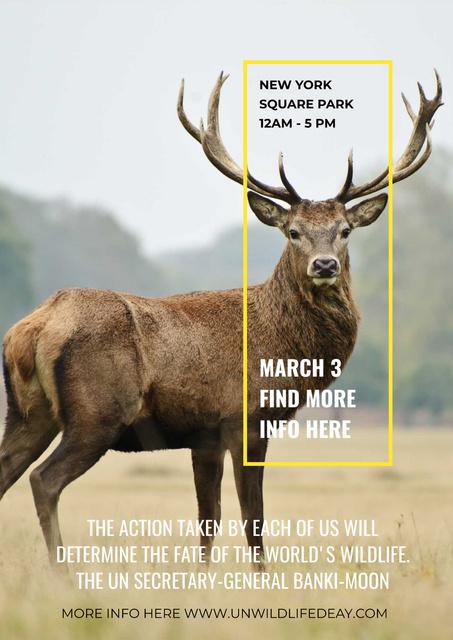 New York Square Park Poster Modelo de Design