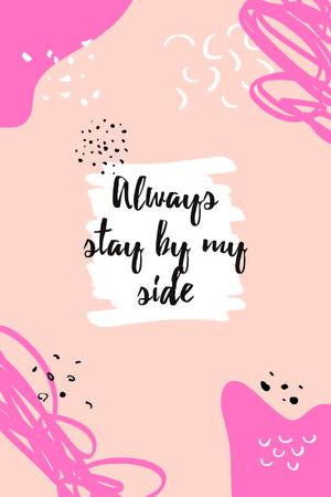 Motivational Quote on pink Pinterest Modelo de Design