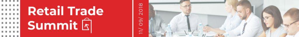 Modèle de visuel Business Event Announcement Successful Team at the Meeting - Leaderboard