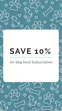 Dog Food Subscription Discount Offer