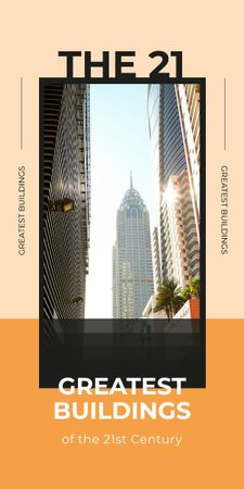 Template di design Greatest Modern glass Building Graphic