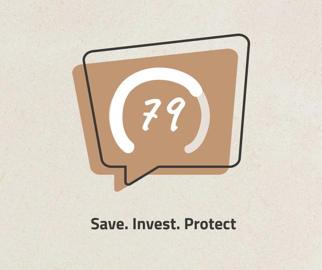 Modèle de visuel Business Investment concept - Facebook