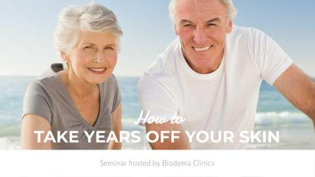 Template di design Dental services for elder people FB event cover