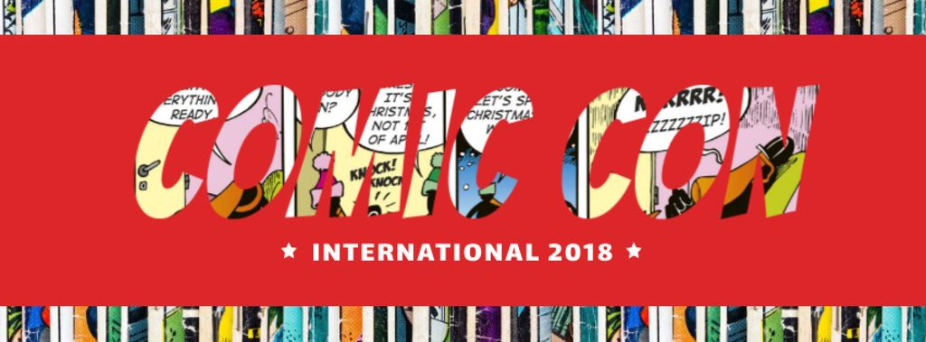 Comic Con International event — Crear un diseño