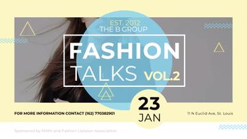 Fashion talks Announcement