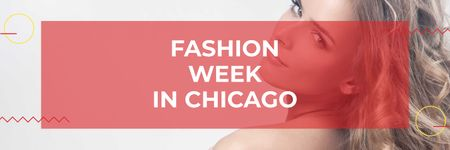 Template di design Fashion week in Chicago Twitter