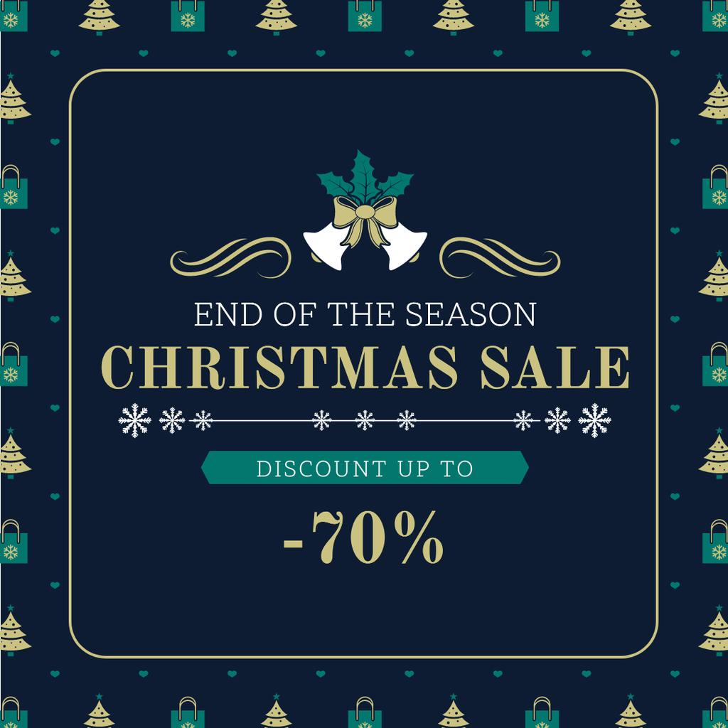 Merry Christmas tree and gifts sale — Crea un design