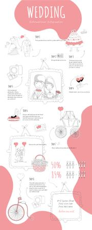 Informational infographics about Wedding Infographic Design Template