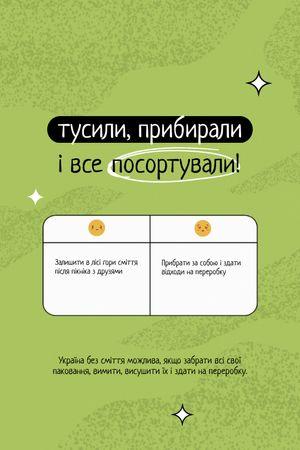 Modèle de visuel Eco Lifestyle and Waste Recycling Concept Motivation - Tumblr