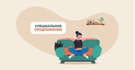 Design template by Crello Facebook AD – шаблон для дизайна