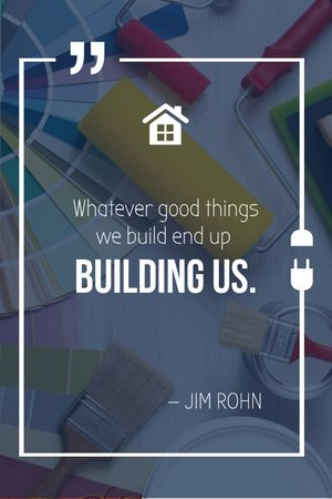 Plantilla de diseño de Building Quote Tools for Home Renovation Tumblr
