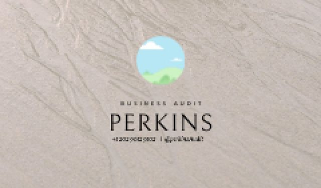 Business Audit services professional contacts Business card Tasarım Şablonu