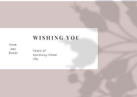 Wedding Greeting on floral pattern Card – шаблон для дизайну