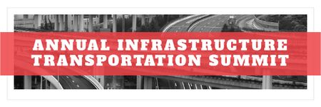 Szablon projektu Annual infrastructure transportation summit Email header