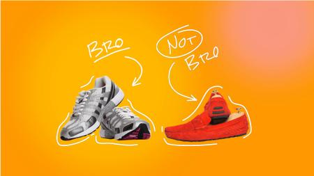Designvorlage Funny Promotion of Stylish Shoes für Full HD video