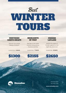 Winter Tour Offer with Snowy Mountains