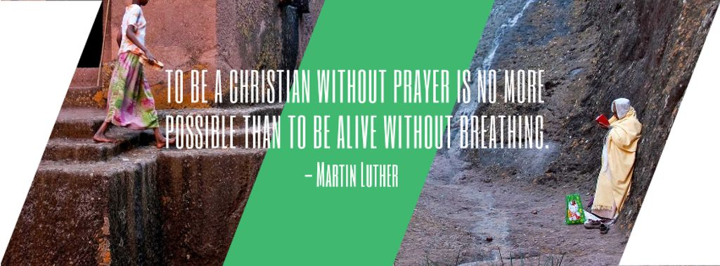 Religion citation about Christian faith — Créer un visuel