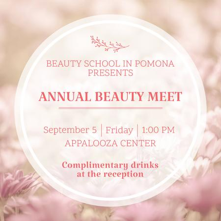 Annual Beauty Meet Announcement Instagramデザインテンプレート