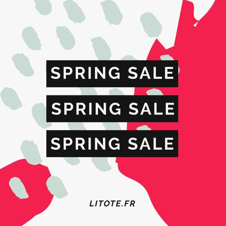 Spring Women's Day Sale Instagram AD – шаблон для дизайну