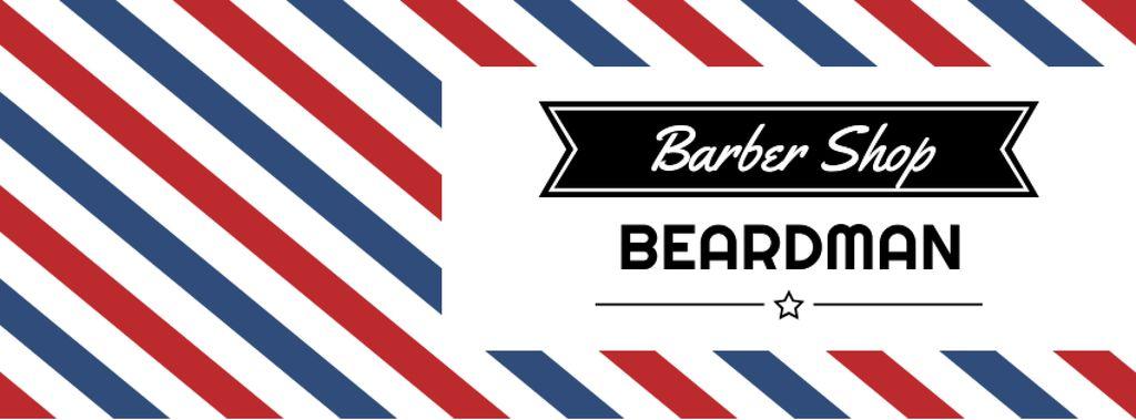 Barbershop Ad with Striped Lamp — Створити дизайн
