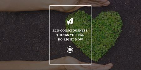 Plantilla de diseño de Eco-consciousness concept Image