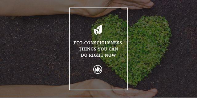 Eco-consciousness concept Image – шаблон для дизайну