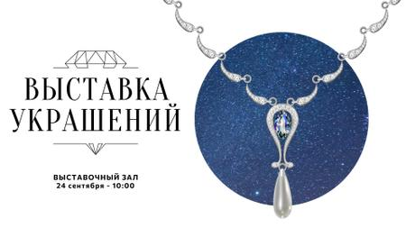 Accessories Offer Necklace with Diamonds FB event cover – шаблон для дизайна