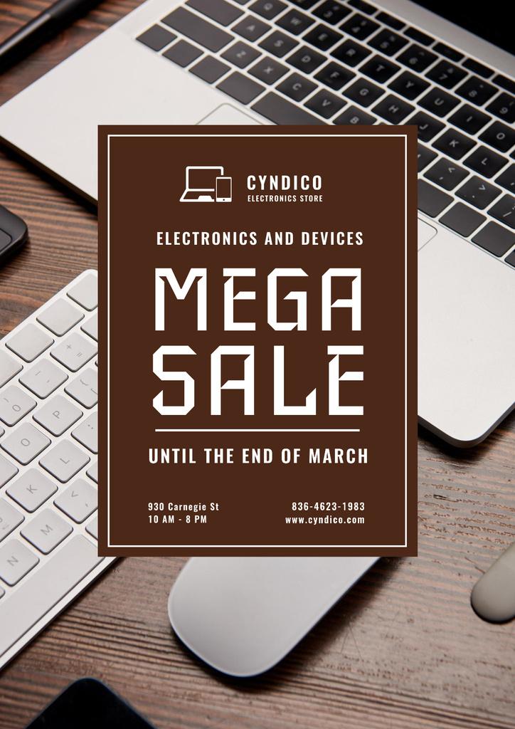 Szablon projektu Special Sale with Digital Devices Poster