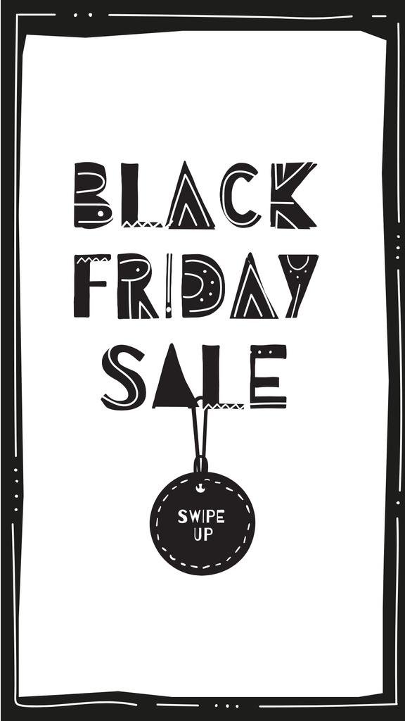 Black Friday sale with tag — Створити дизайн