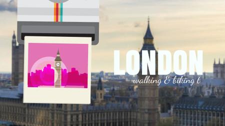 London Big Ben Famous Travelling Spot Full HD video Design Template