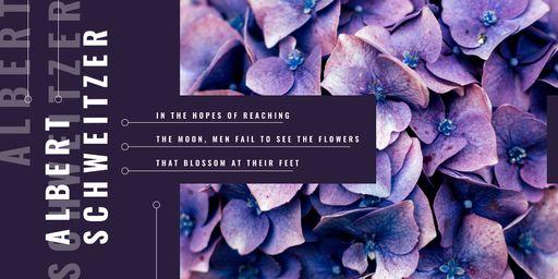 Blue Hydrangea Flowers BlogHeader