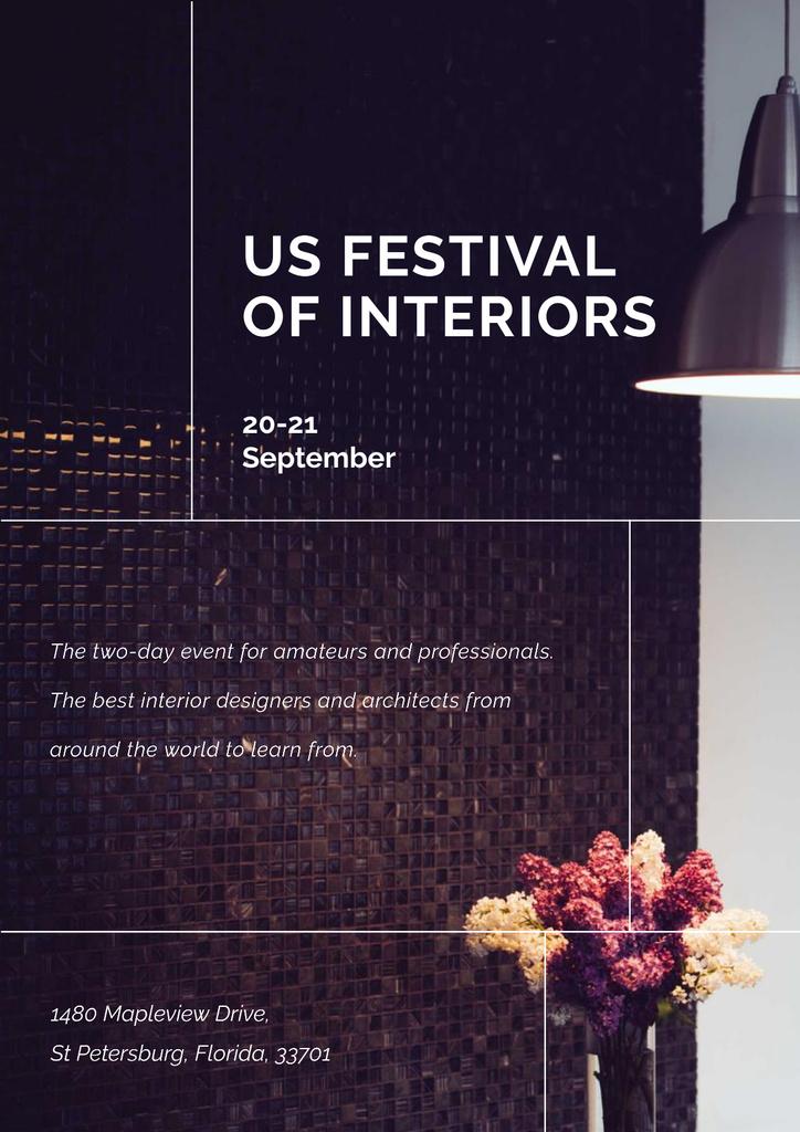 Festival of Interiors Announcement — Crear un diseño