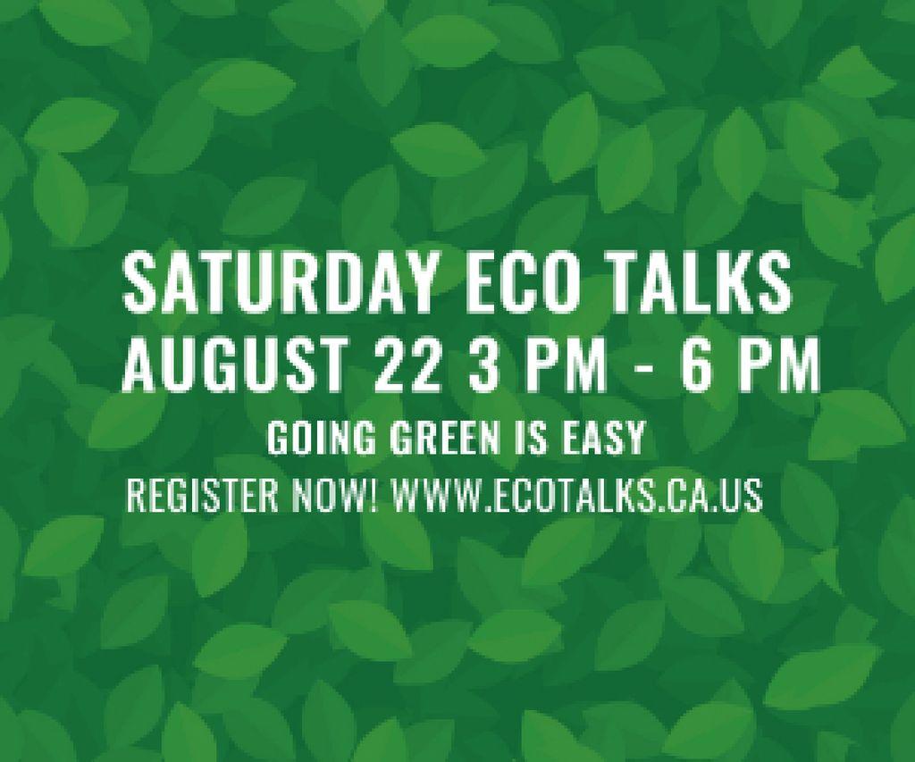 Saturday eco talks  — Crear un diseño