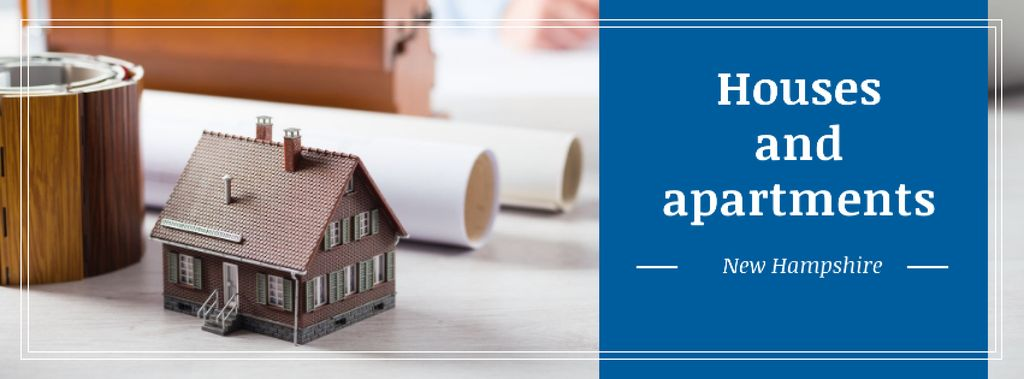 Advertisement for new real estate area — Modelo de projeto
